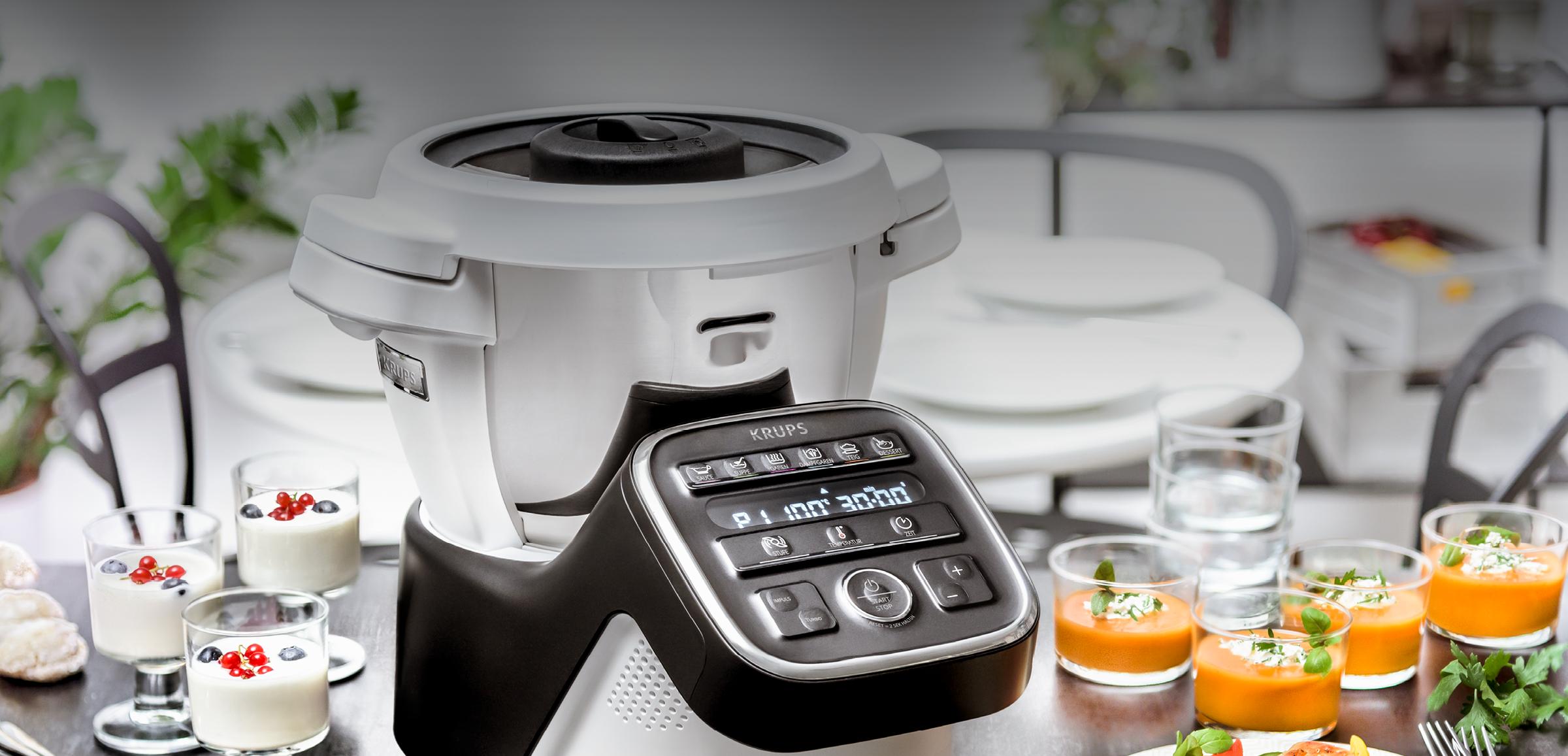 Die neue Küchenmaschiene mit Kochfunktion von Krups: Die Prep&Cook XL