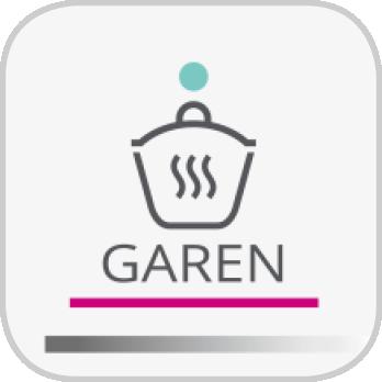 Icon für das Garen-Programm der i Prep&Cook XL