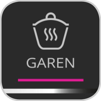 Icon für das Garen-Programm der Prep&Cook XL