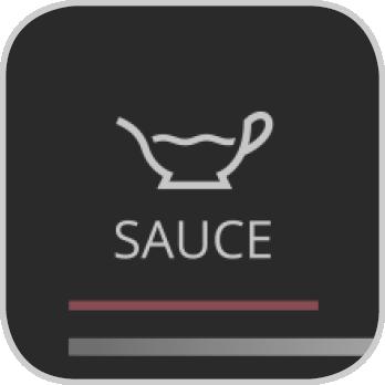 Icon für das Saucen-Programm der Prep&Cook XL