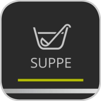 Icon für das Suppen-Programm der Prep&Cook XL