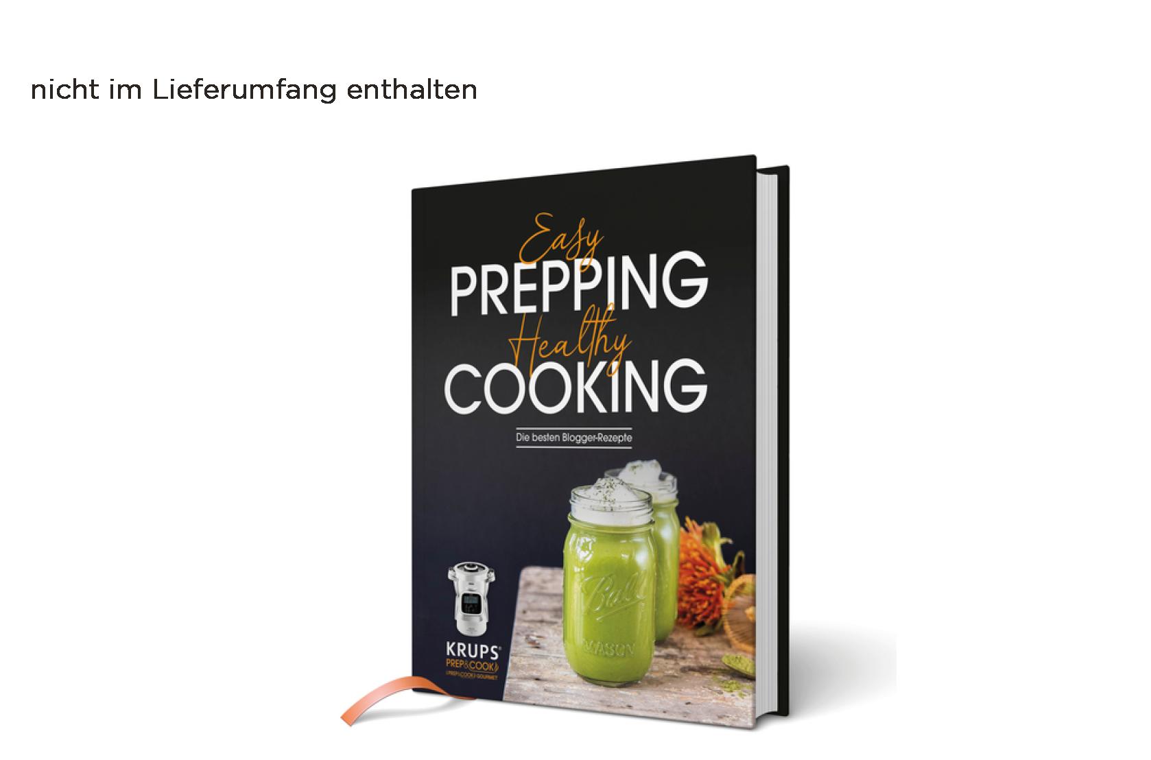 Prep&Cook Zubehör Blogger-Rezeptbuch für die Prep&Cook XL und i Prep&Cook XL